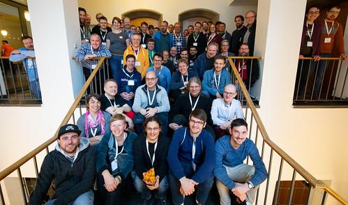 FOSSGIS 2019 OSM Samstag Gruppenfoto