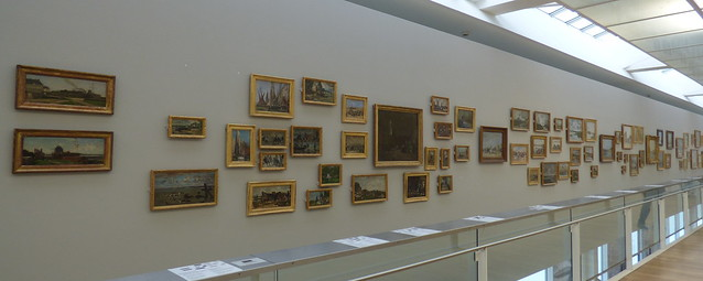 The famous collection of paintings of Eugène Boudin (1824-1898) in the MuMa Museum André Malraux, Le Havre