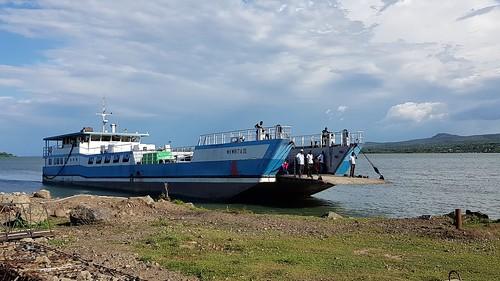 mbita rusinga island ferry transport water bus lwanda kotieno lake victoria kenya east africa beach boat pier
