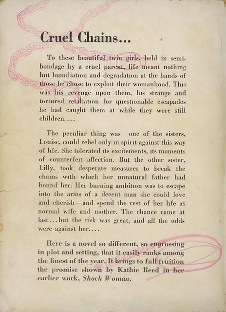Intimate Novels 41 - Kathie Reed - Forbidden Desire (back)