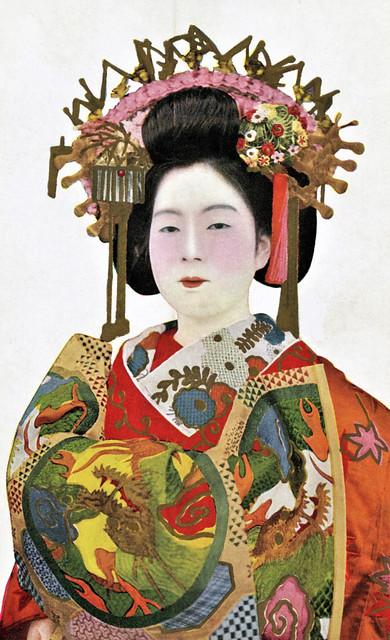 Kikunoi-dayuu - Dragon Obi 1920s