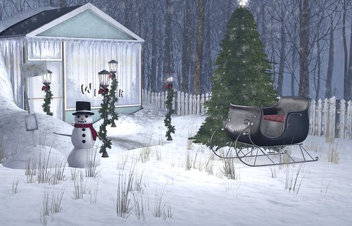 #401 - Winter Scene