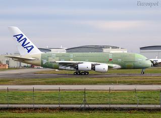 F-WWAF Airbus A380 ANA #2   by @Eurospot
