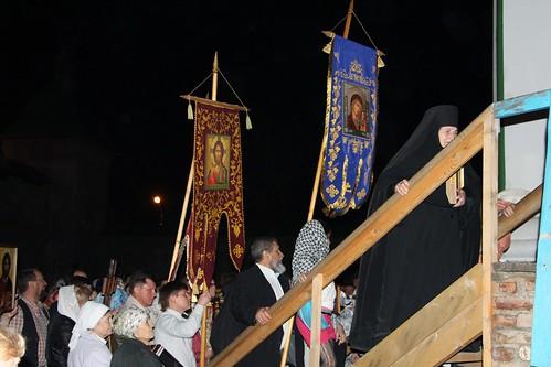 Пасхальное Богослужение в Свято-Никольском храме станицы Кавказской IMG_1234