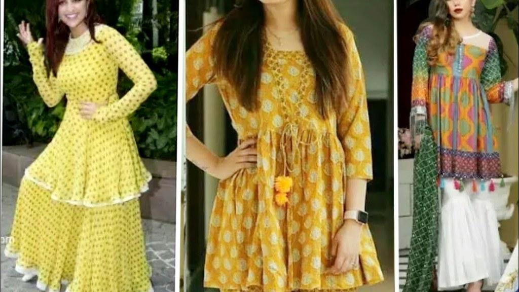 Beautiful And Stylish Short Frocks And Short Shirts Design Flickr