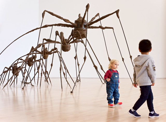 The Other Kid Is More Interesting (Than Giant Spiders)