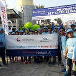 Beat Diabetes Walk for Diabetes Awareness by our Company