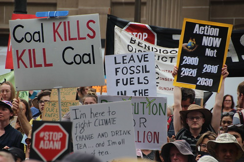 Action Now not 2030 - Melbourne climate march for our future - #stopAdani - IMG_3827 | by John Englart (Takver)