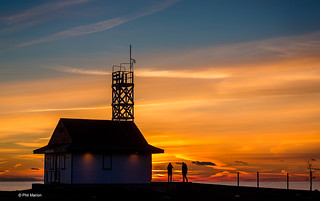 Another glorious sunrise over Lake Ontario and the Leuty Lifeguard Station - Kew Beach, Toronto | by Phil Marion