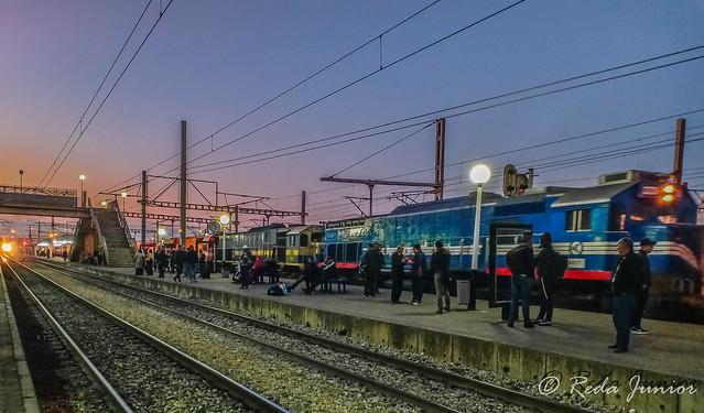 Train de machines: 060DT+060DP+060DF17