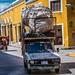 2018 - Mexico - IZAMAL - Refuse Pick Up por Ted's photos - For Me & You