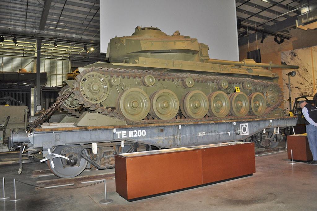 Centurion Tank, Rover V12 Meteor Engine Holsworthy 13-11-2018