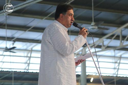 Stage Secretary, Virender Kumar Vicky