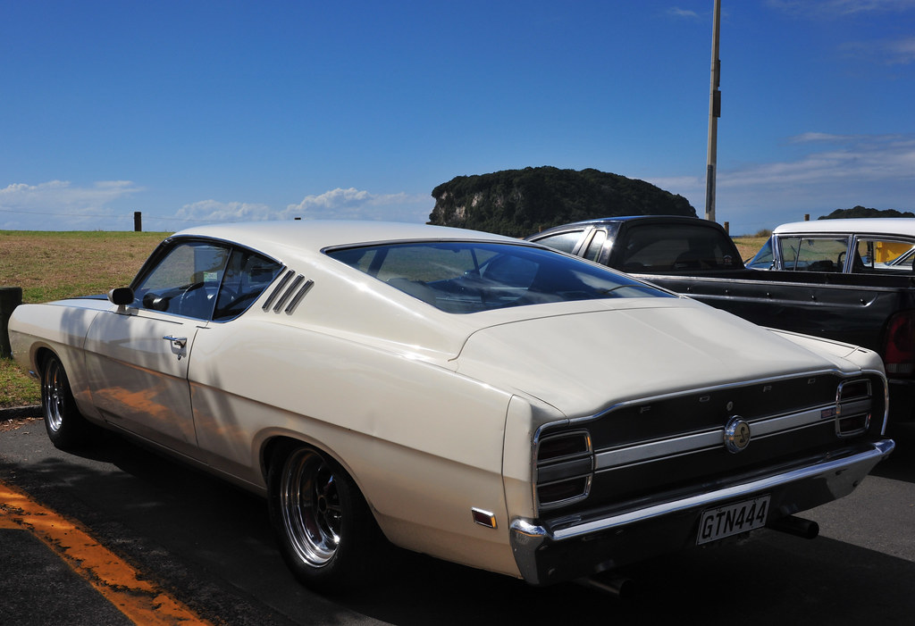 New Ford Torino >> 1969 Ford Torino Talladega Beach Hop Whangamata New Zeal Flickr