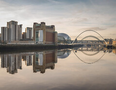 Newcastle Gateshead quayside December 2018