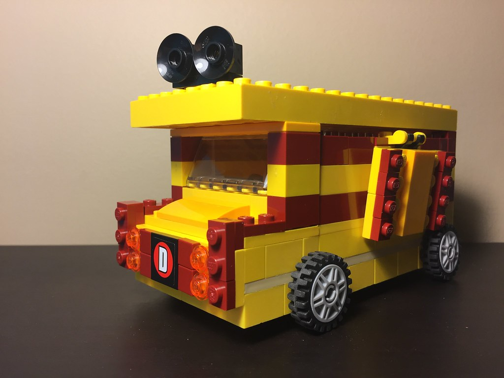 Deadpool S Chimichanga Truck Entry For R Lego S Food Tru Flickr
