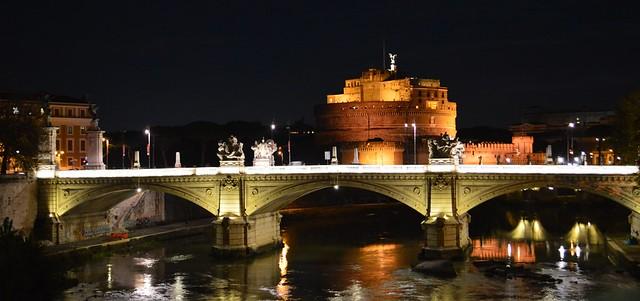 Castillo de Sant'Angelo o Castel Sant'Angelo ROMA