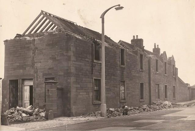 Ladyloan demolition 1956