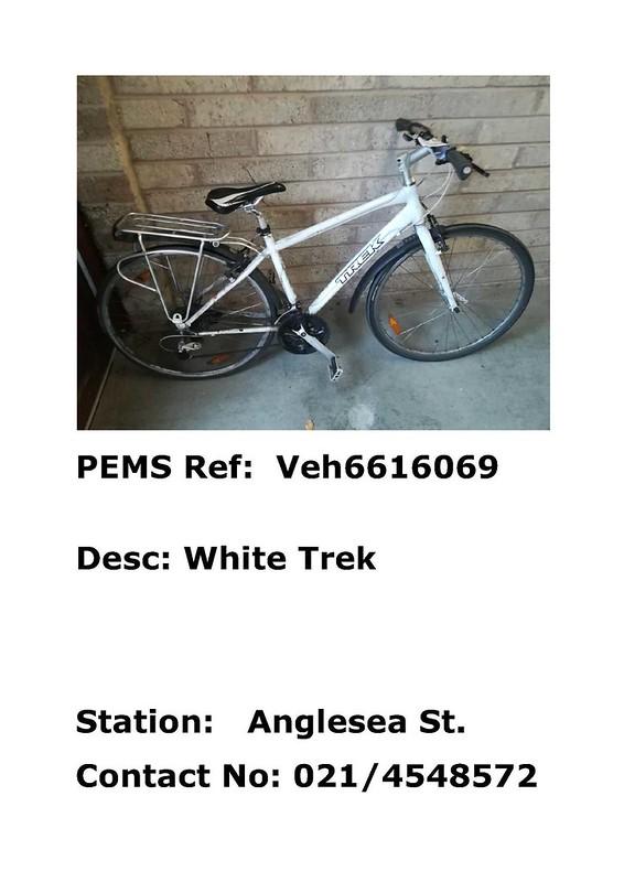 Anglesea Street - white Trek - Veh6616069