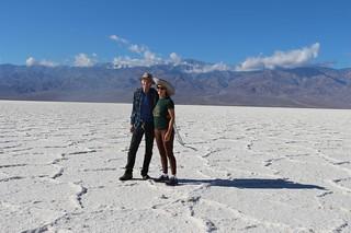 0112 Vicki and I posing on the salt at Badwater | by _JFR_