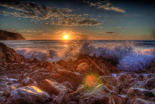 sunset bluffcove palosverdesestates palosverdespeninsulacalifornia southerncalifornia pacificocean