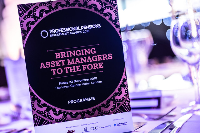 Professional Pensions Investment Awards 2018