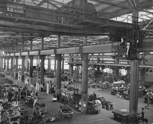 Interior of shops - 1940s   by Metro Transportation Library and Archive
