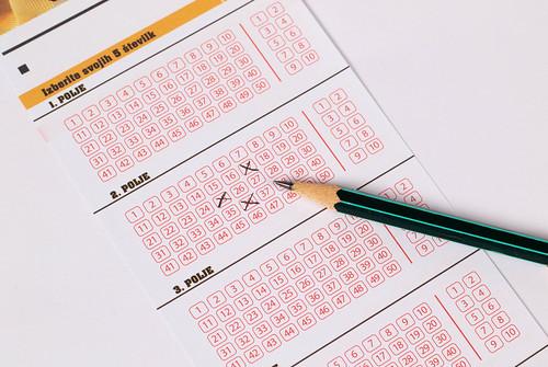 Lottery ticket and pencil   by wuestenigel