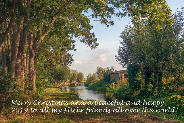 Merry Christmas and a peaceful and happy 2019 to all my Flickr friends all over the world!