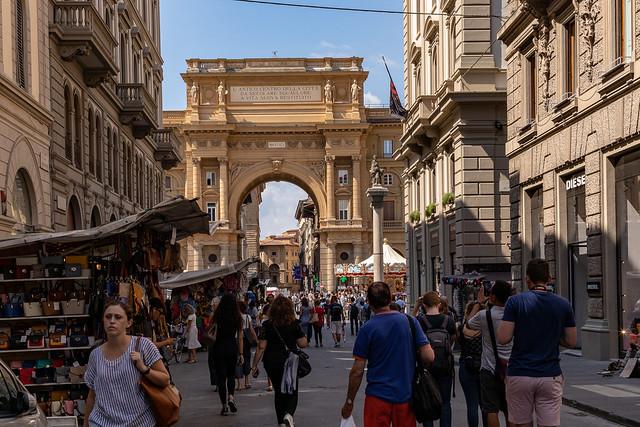 Street life in Italy.