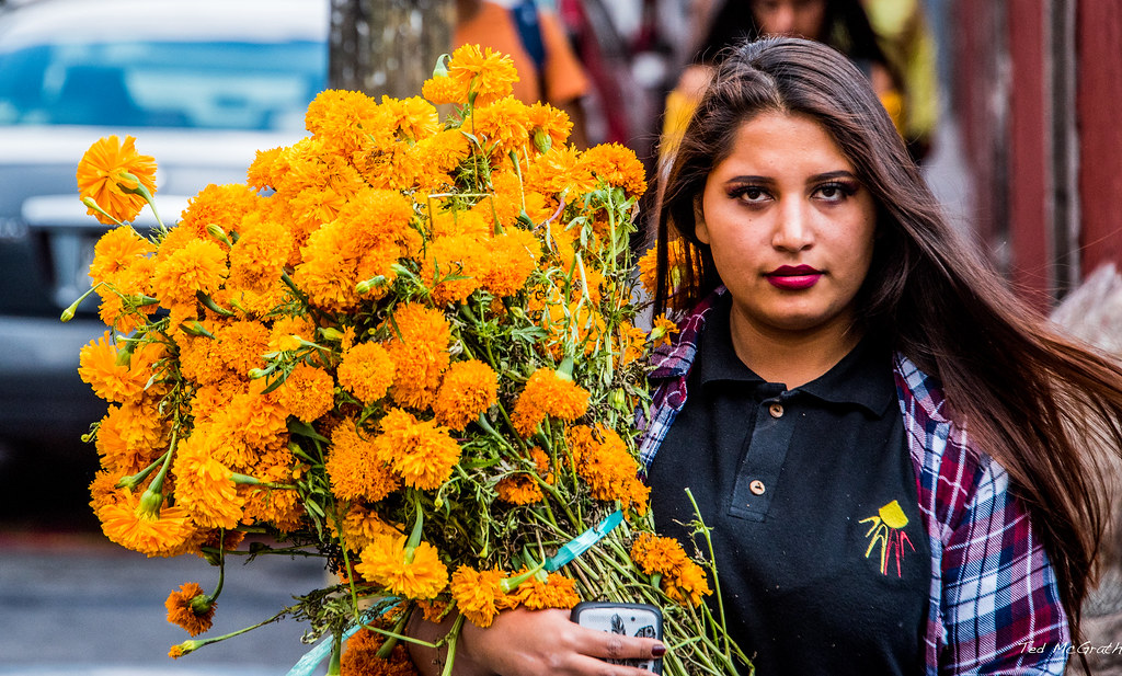 Image result for marigold bouquet