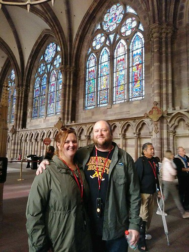 Us in Strasbourg Cathedral | by the queen of subtle