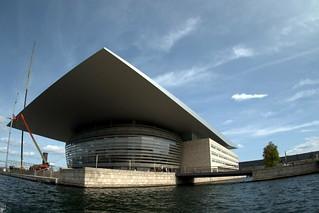 Opera in Copenhagen, Denmark