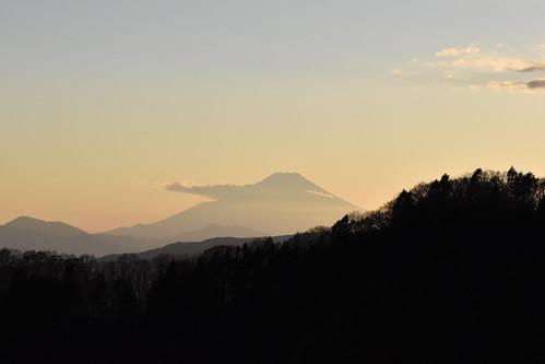 tokyoprefecture japan odakesan fujisan mountfuji sunset