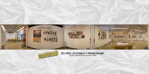 Exposición: Del papel en blanco a Paranoidland - Comienzo | by Bouman