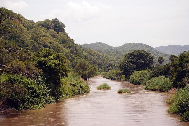 River near Lake Rukwa southern Tanzania