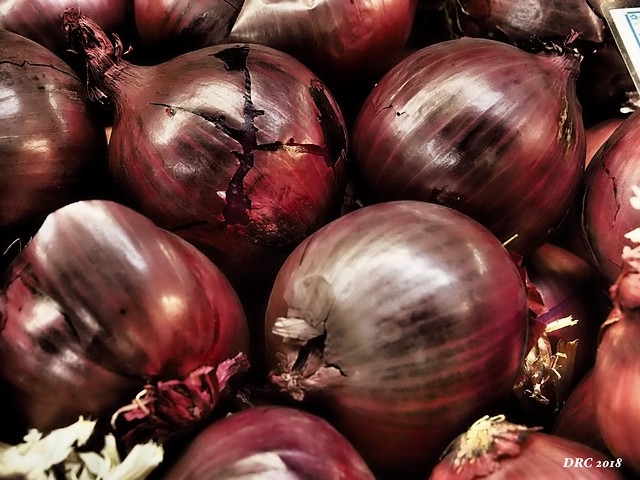 I love red onions