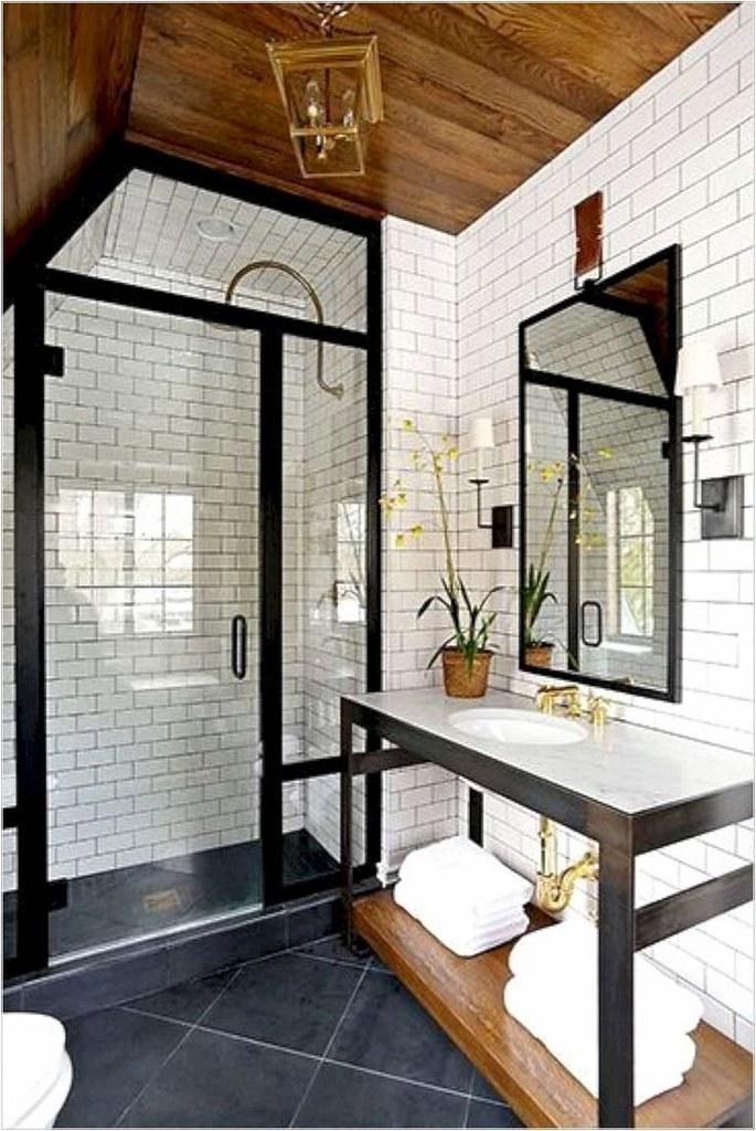 Rich Kids : nice 49 Fabulous Small Farmhouse Bathroom Design Ideas