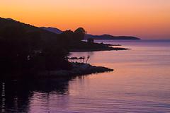 Ksamil in the dusk