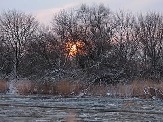 Холодный закат / Cold sunset   by Владимир-61