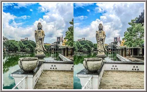 seemamalakayatemple colombo srilanka 3d stereoscopy stereophotography
