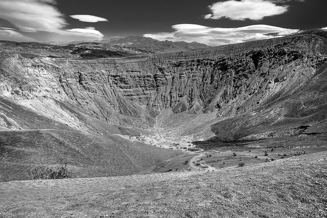 Ubuhebe Crater, Death Valley, California, USA