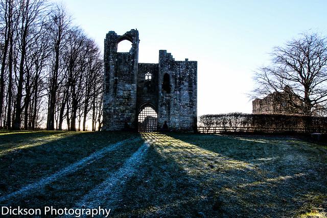 Etal Castle in Northumberland