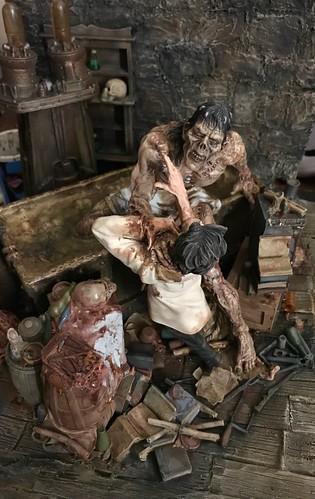 Wrightson Frankenstein diorama   by danfuller2