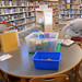 Children's play area. State Librarian Beverly Cain, Julia Ward, and Bill Morris traveled to Northwest Ohio in August 2018 to meet former State Library Board Member, John Myles, for a tour of four public libraries and the Museum of Fulton County.