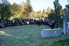 Gedenkfeier am Denkmal der Vertriebenen auf dem Karlsruher Hauptfriedhof
