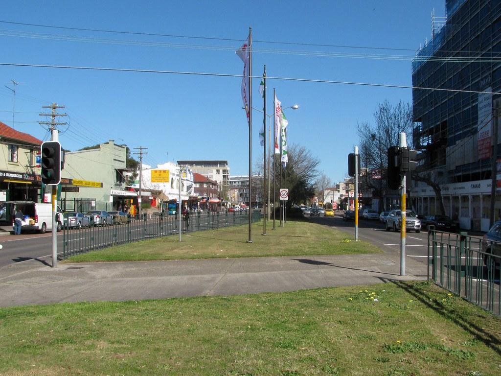 Ex Tramway Reservation, Kensington, Sydney, NSW.