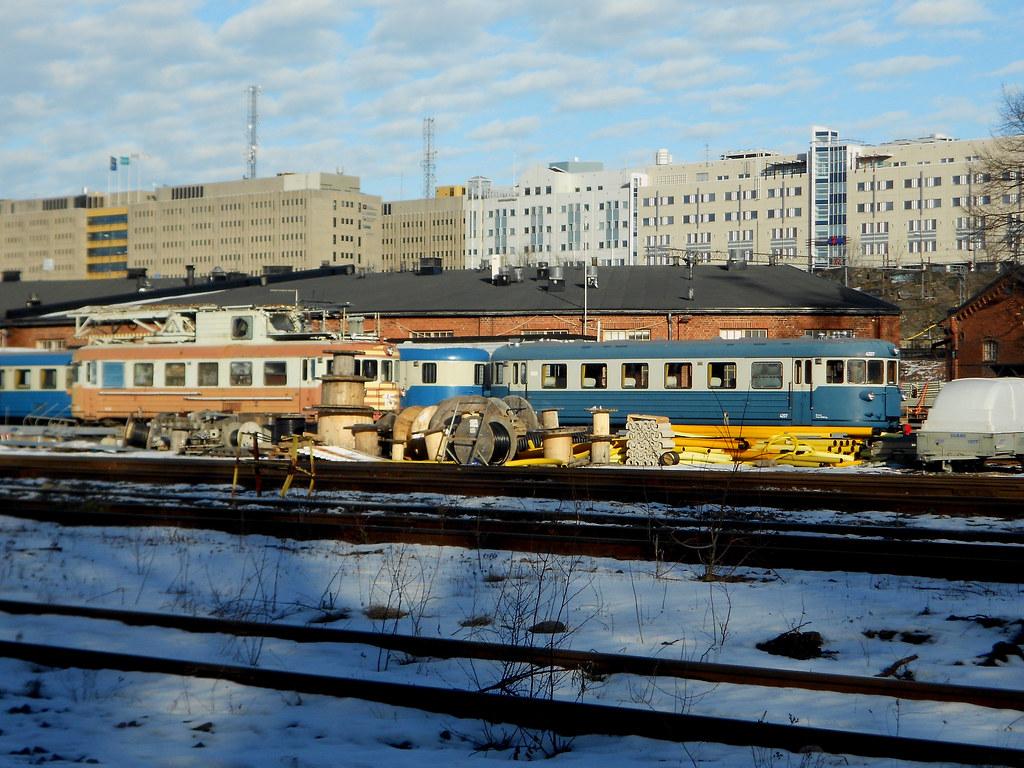 "Хельсинки. Депо ""Pasila""."