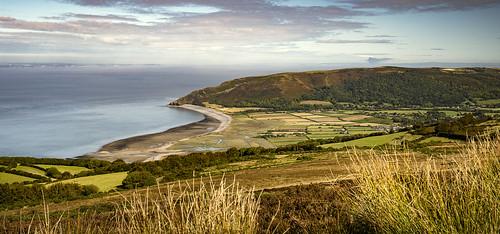 porlock somerset seascape landscape