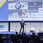 Kevin Gaskell during Plenary 3 session at IRU World Congress